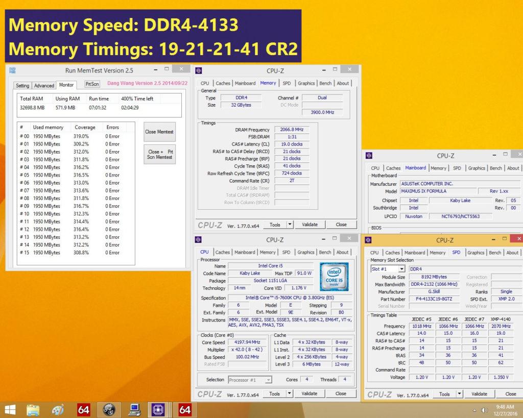 G.SKILL DDR4 Trident Z 4133