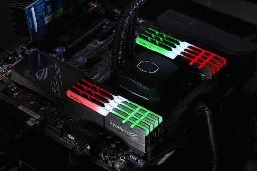 G.SKILL Trident Z RGB DDR4-3333 МГц объемом 128 Гб