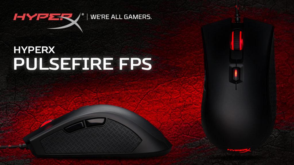 HyperX представила игровую мышь Pulsefire FPS