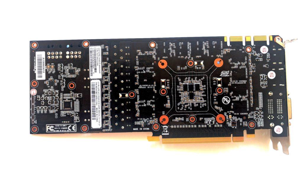Palit GeForce GTX 780 JetStream PCB back