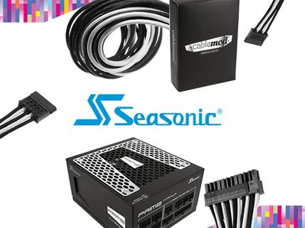 Стенд компании Seasonic на Computex 2017