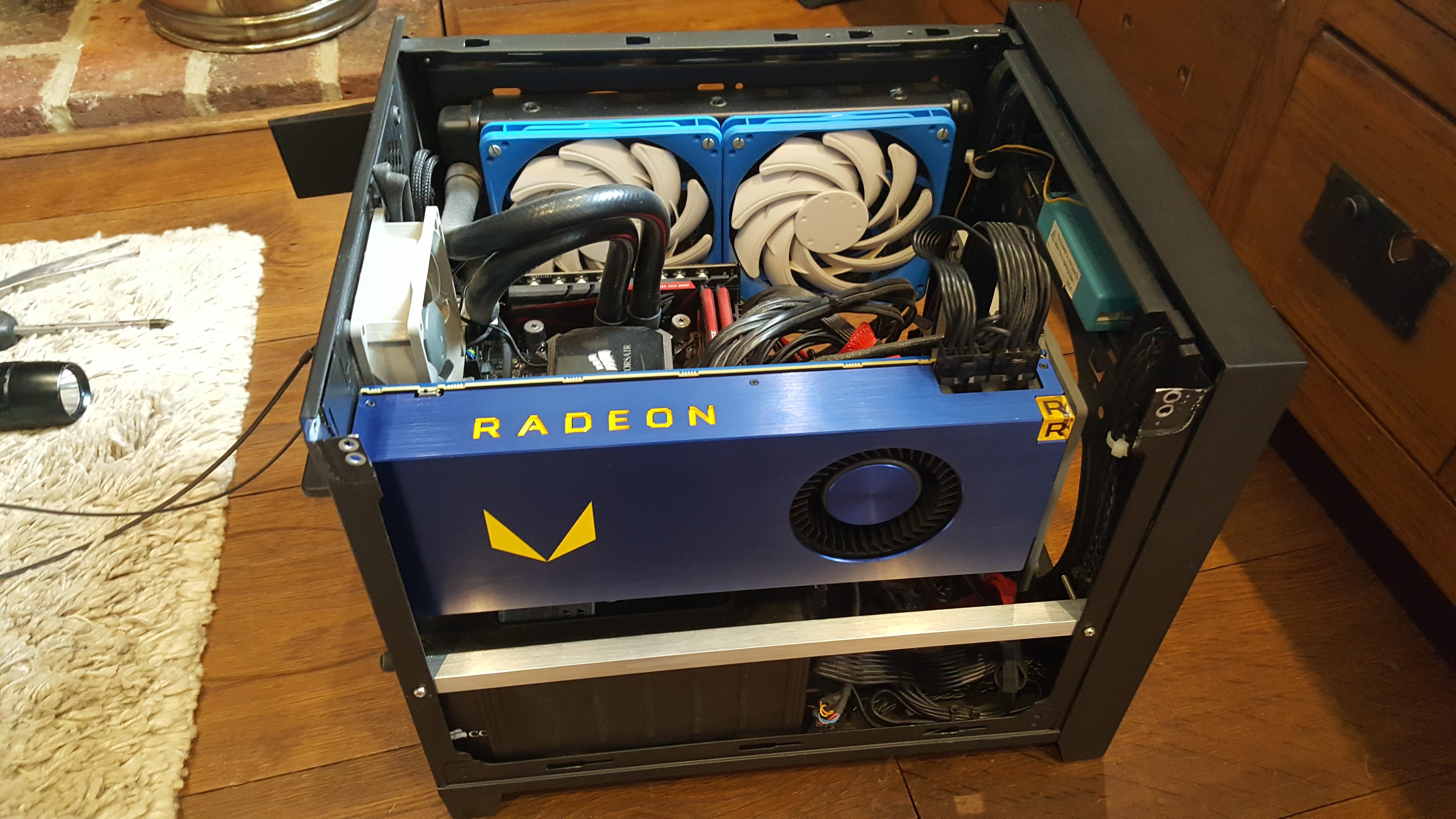 Результат AMD Radeon Pro Vega Frontier Edition в 3DMark Fire Strike