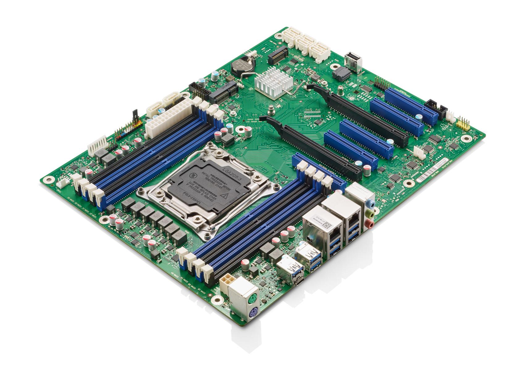 Представлена материнская плата Fujitsu D3598-B ATX на чипсете Intel C422