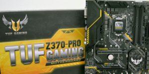 Обзор и тест материнской платы ASUS TUF Z370-Pro Gaming