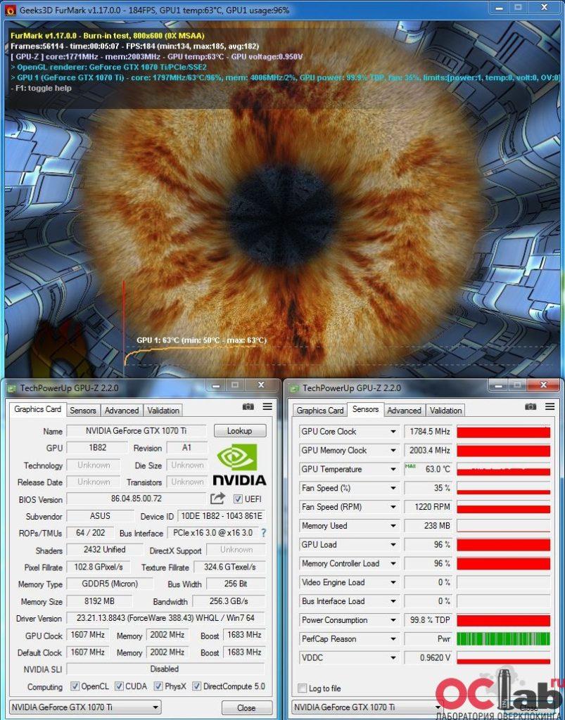 Обзор и тест видеокарты ASUS ROG Strix GTX 1070 Ti ADVANCED