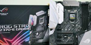 Обзор и тест материнской платы ASUS ROG Strix Z370-E Gaming