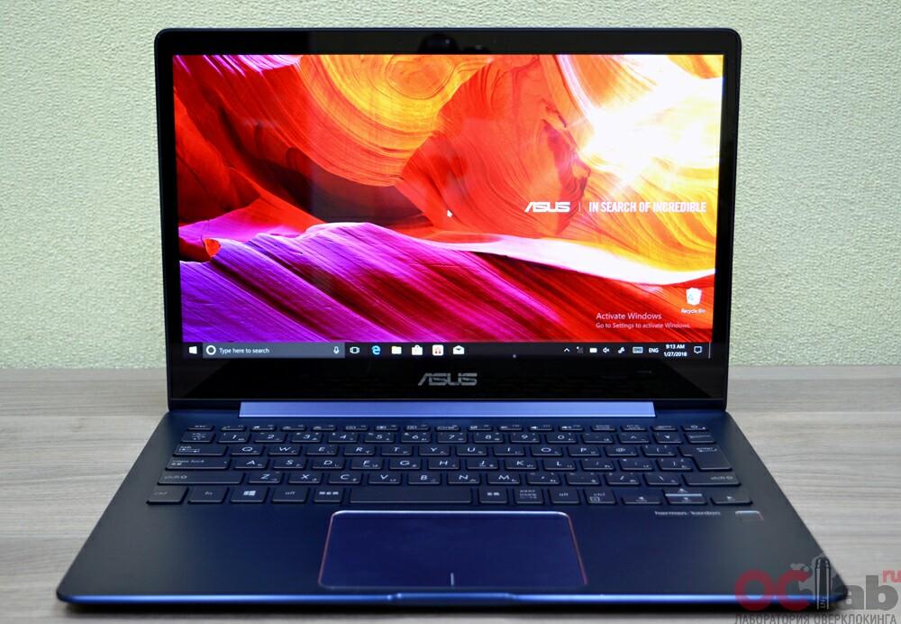 Обзор и тест ультрабука <b>Asus ZenBook</b> 13 <b>UX331UA</b> - стильный ...