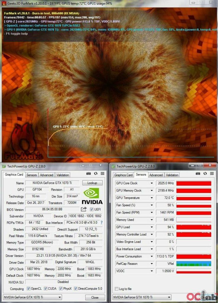 Обзор и тест видеокарты Palit Geforce GTX 1070 Ti Super