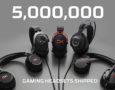 HyperX продала пять миллионов игровых гарнитур