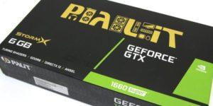 Обзор и тест видеокарты PALIT GTX1660 Super STORM X 6G