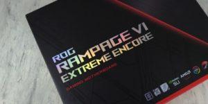 ASUS ROG Rampage VI Extreme Encore: Обзор и Тест