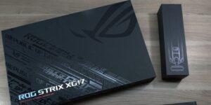Обзор и тест портативного монитора ASUS ROG Strix XG17AHP