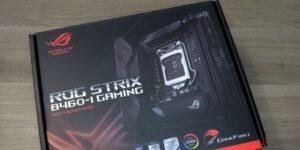 Обзор и тест материнской платы ASUS ROG Strix B460-I Gaming