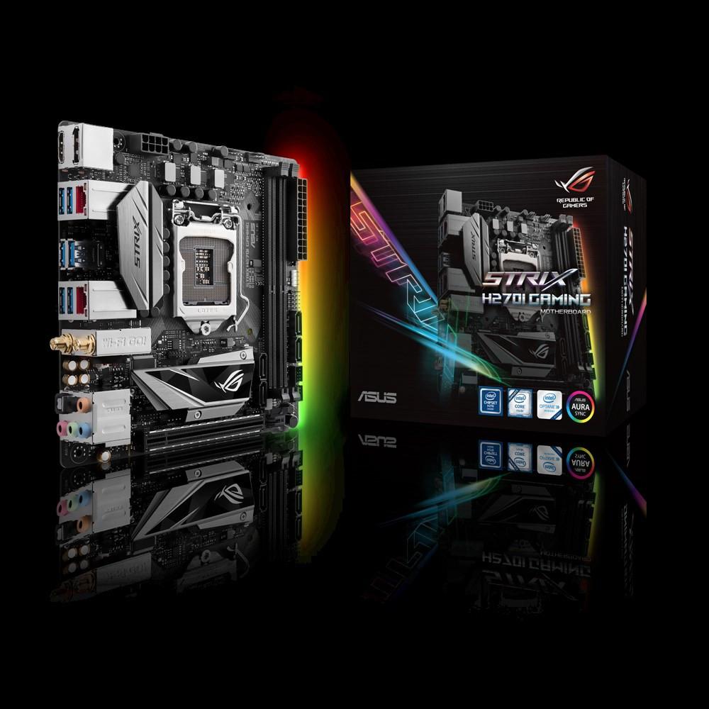 ASUS выпустила Mini-ITX материнскую плату ROG STRIX H270I