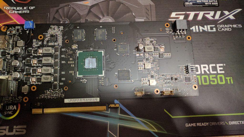 ASUS ROG Strix GTX 1050 Ti Gaming voltmod