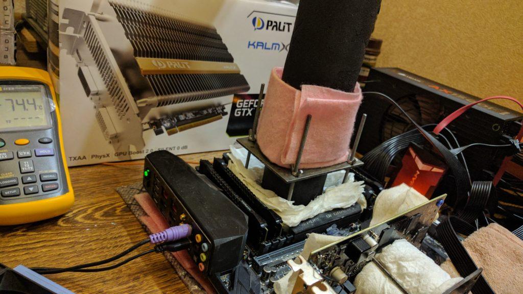 Аппаратная модификация Palit GeForce GTX 750 Ti KalmX