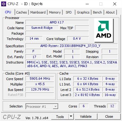 Четыре мировых рекорда AMD Ryzen 5 1600X