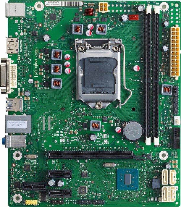 Обновленные версии материнских плат Fujitsu с поддержкой процессоров Intel Kaby lake