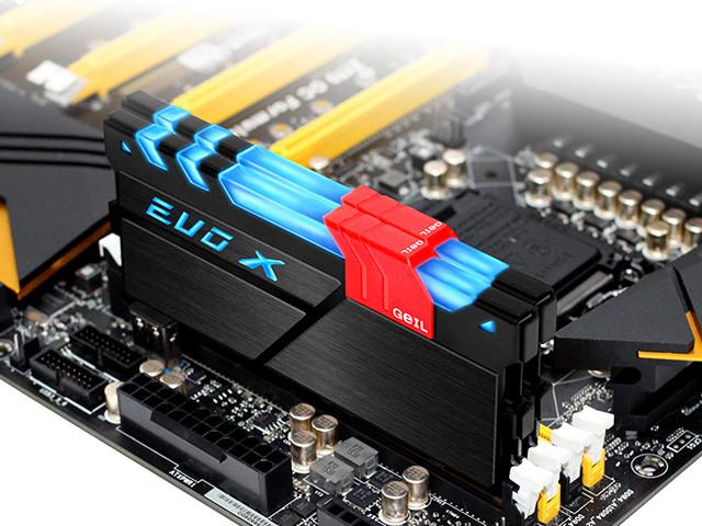 GeIL DDR4 EVO-X с RGB LED