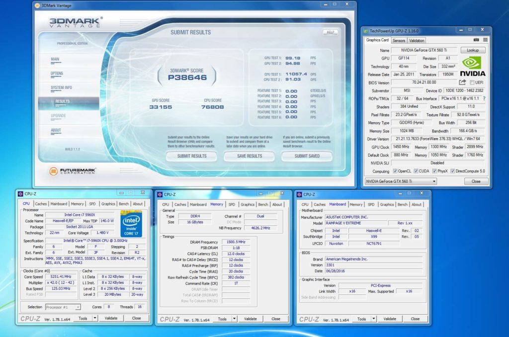 Графический чип GeForce GTX 560 Ti разогнан до 1450 МГц