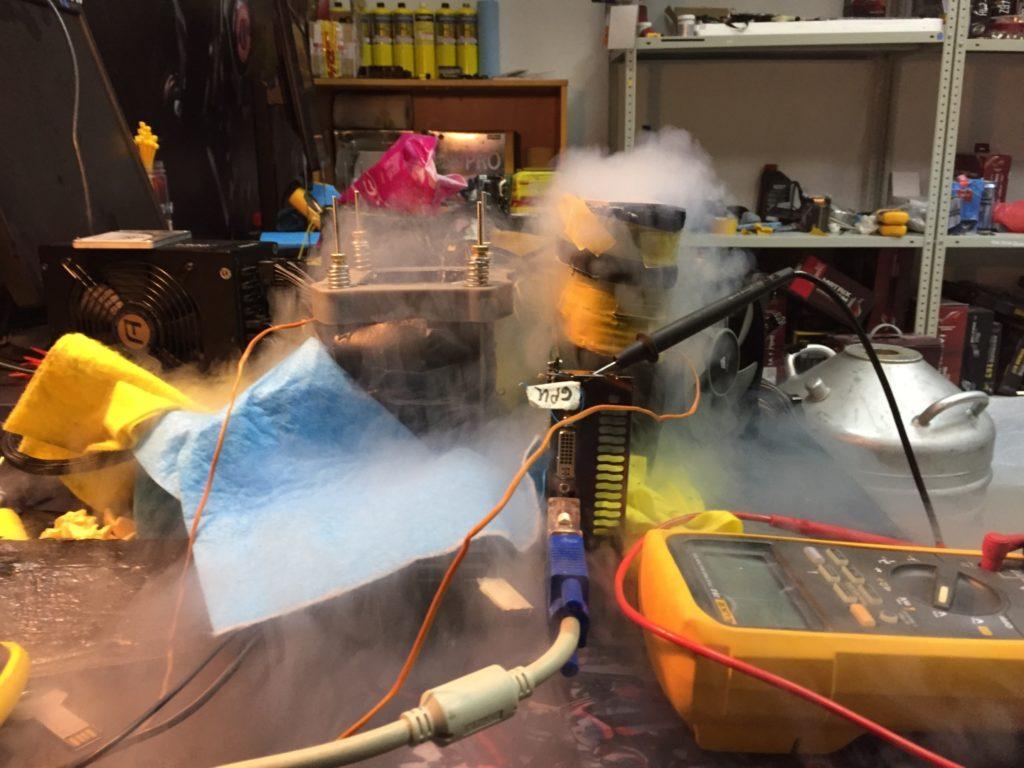Очередные три рекорда при помощи процессора Kaby Lake установил Smoke