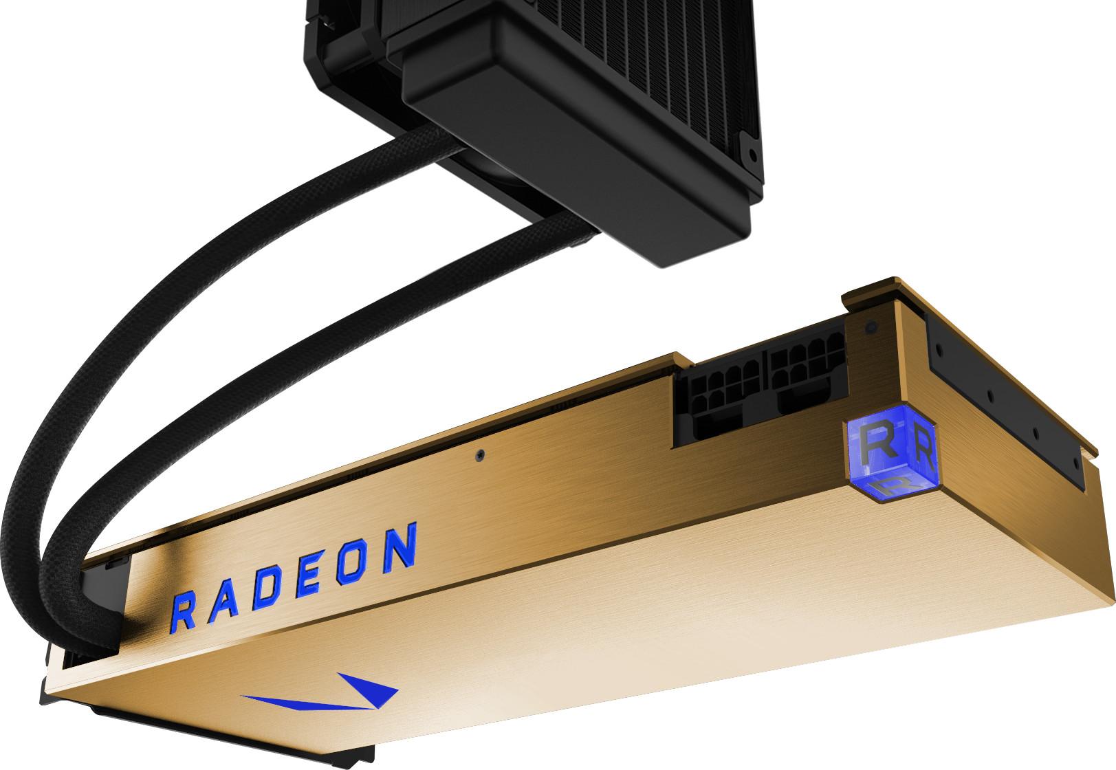 AMD Radeon Vega Frontier Edition с водяным охлаждением поступила в продажу по цене $1,489.99