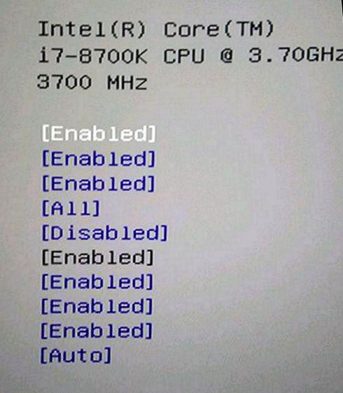 Первые фото и резултаты в CPU-Z процессора Intel Core i7-8700K