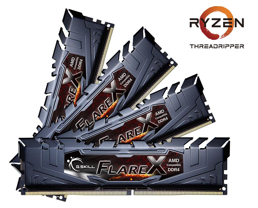 G.SKILL анонсировала комплекты памяти DDR4 для AMD Ryzen Threadripper