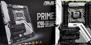 Обзор и тест материнской платы Asus Prime X299-Deluxe